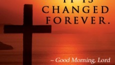 When Jesus redeems your life it is changed forever