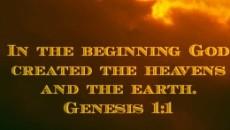 God created the heavens