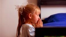praying bedtime fears