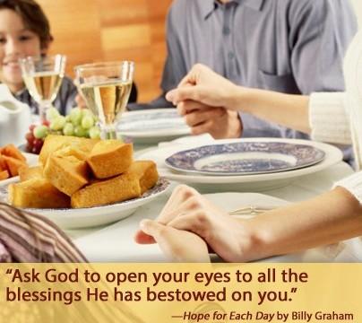 biblical model thanksgiving