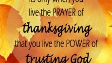 thanksgiving study