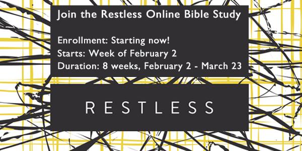 Restless Study FaithGateway Jennie Allen