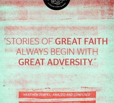 stories of great faith
