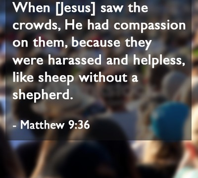 Image result for Matthew 9:36