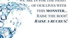 ALS ice bucket challenge quote