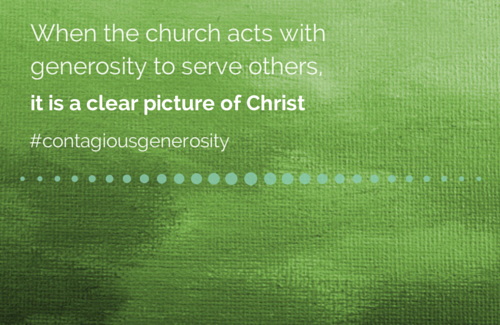 Generosity Is the New Evangelism