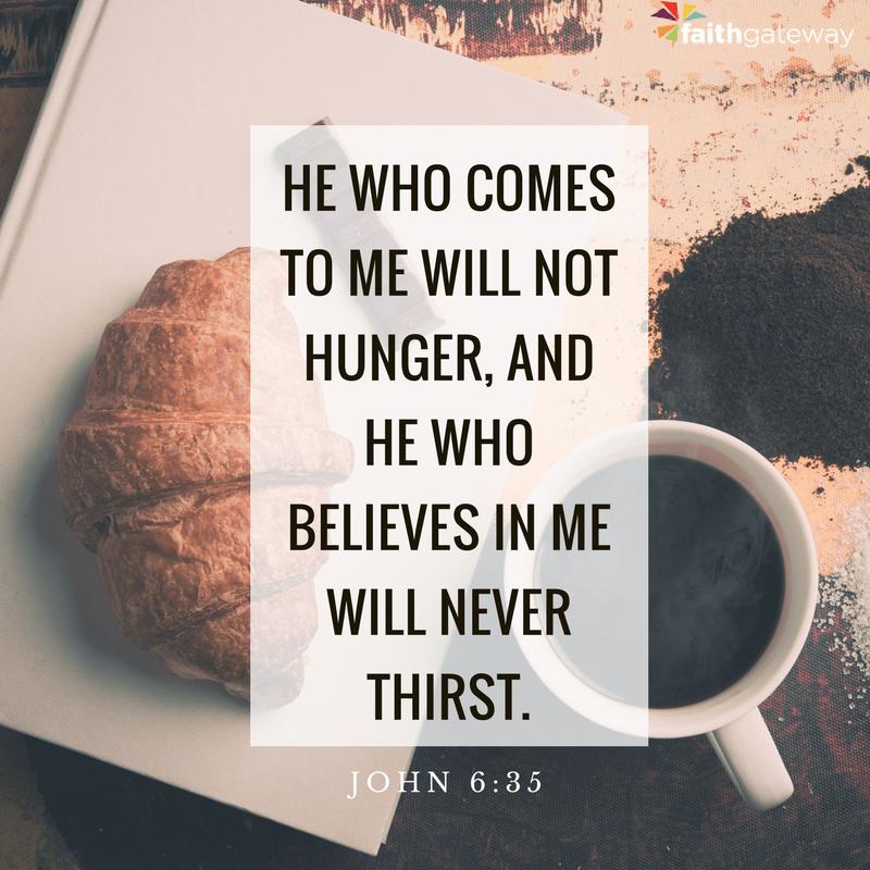Jesus is the manna.