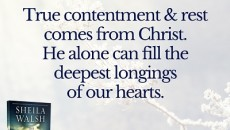True Contentment in Christ
