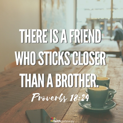 friends with God.