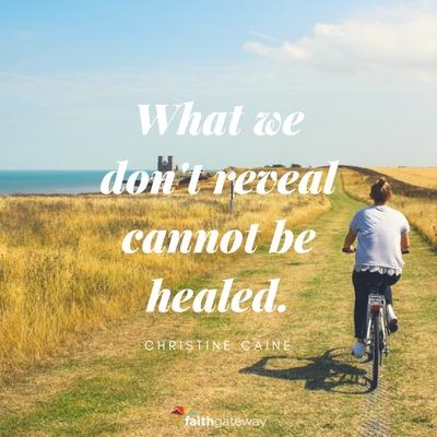 Jesus heals our broken hearts