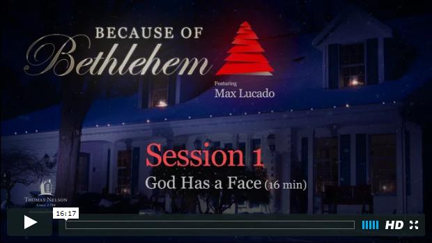 Week 1 - God Has a Face