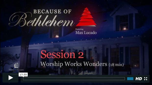 Week 2 - Worship Works Wonders
