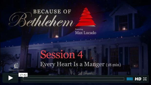 Week 4 - Every Heart a Manger