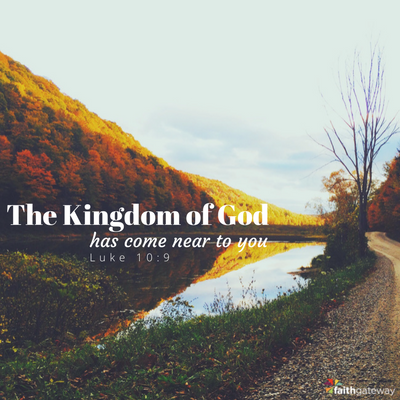 the kingdom of God is near you on Easter