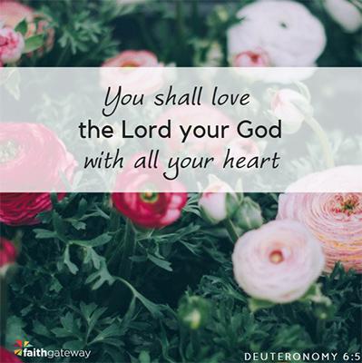 Teach children about Deuteronomy 6:5