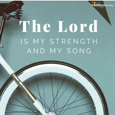 The Lord is your strength, lean on him through change