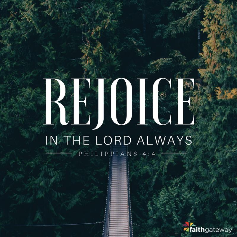 The Christian life is joyful