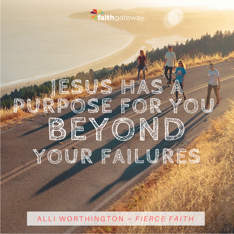 Getting Past Our Past Pain | Fierce Faith by Alli Worthington