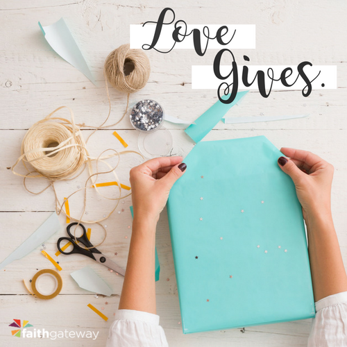 The Love in Givenness | Be the Gift by Ann Voskamp