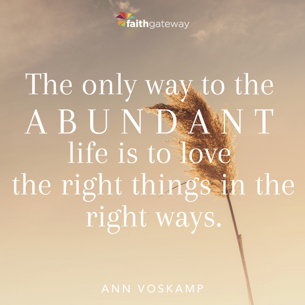 Risky Living | The Way Of Abundance A 60-Day Journey Into A Deeply Meaningful Life By Ann Voskamp