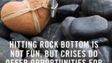 Facing Rock Bottom
