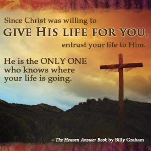 Heaven Answer Book Christ is the answer