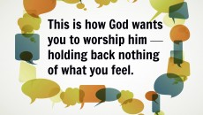 How God Wants You to Worship