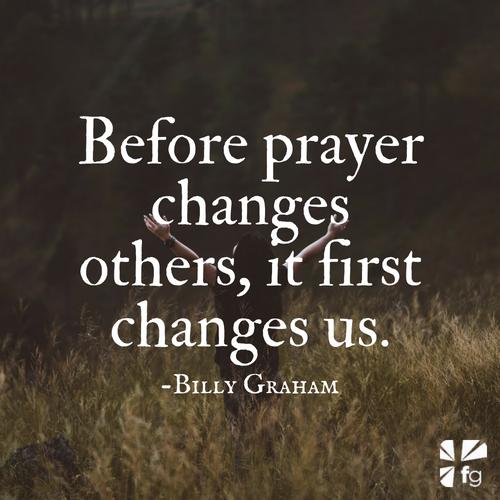Bible Verses About Prayer | Billy Graham on Prayer