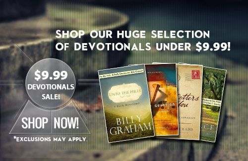Sale on Devotionals