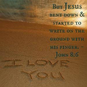 What Did Jesus Write on the Ground? - FaithGateway