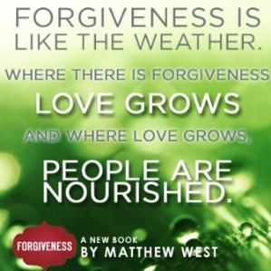 Matthew West book Forgiveness