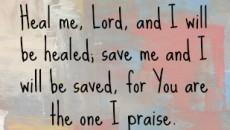 jeremiah 17 14