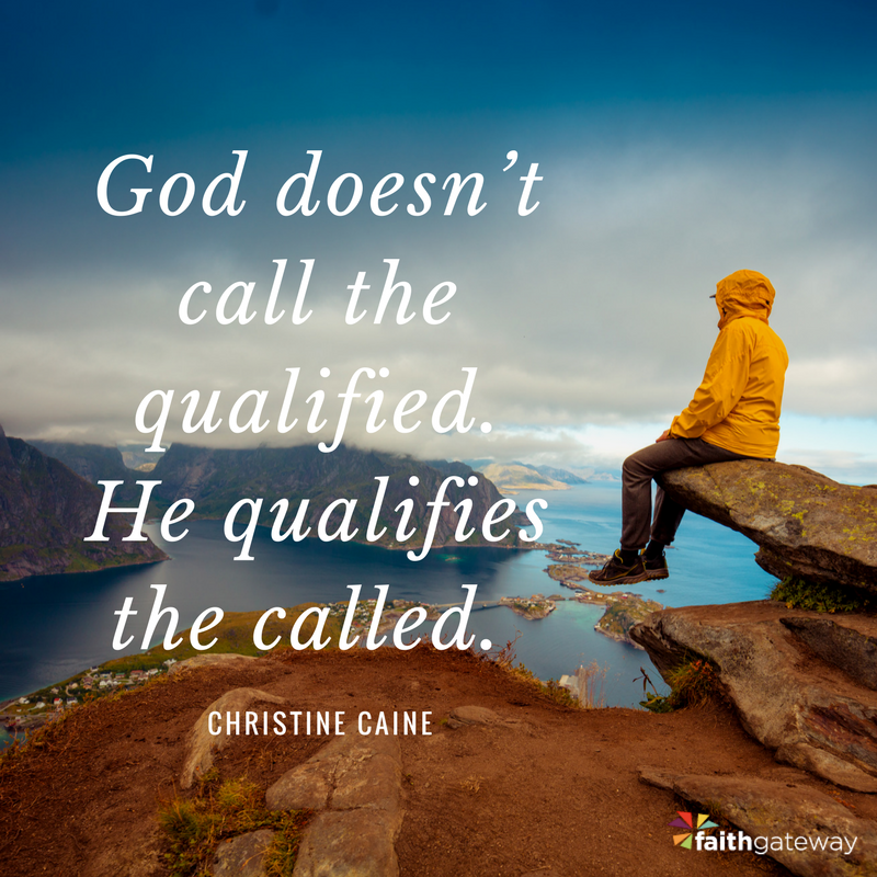 Undaunted: God Doesn't Call the Qualified - FaithGateway