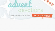 free advent devotional slider