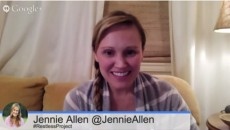 jennie allen video chat replay