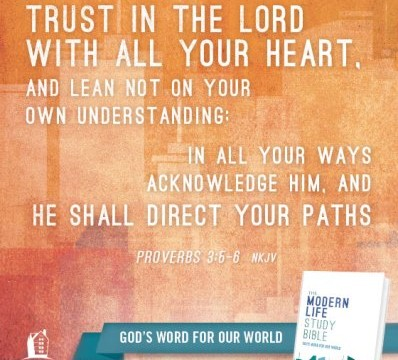 Proverbs 3:5 Trust in the Lord