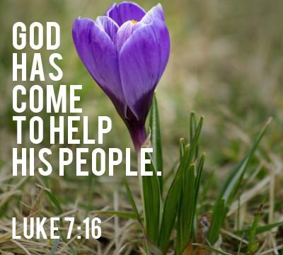 Luke 7:16