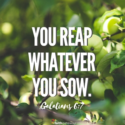 The Law of Reaping and Sowing - FaithGateway