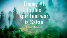 Enemy #1 is Satan