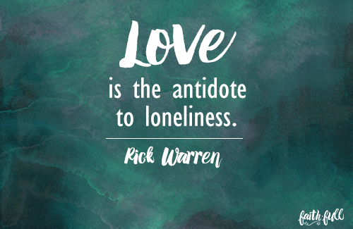 How Can I Overcome Loneliness? - FaithGateway