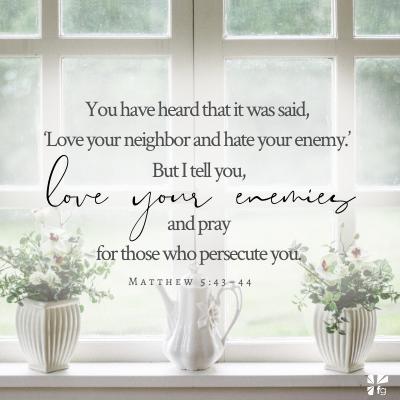 Matthew 5:43–44