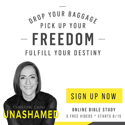 Unashamed Study Christine Caine Registration