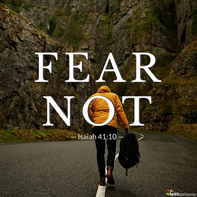 Your gospel identity is good enough; fear not