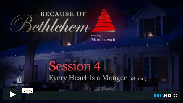 Week 4 - Every Heart a Manger