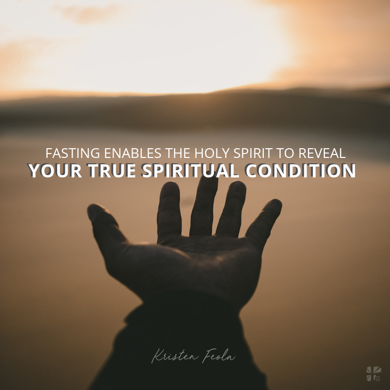 Fasting and the Holy Spirit