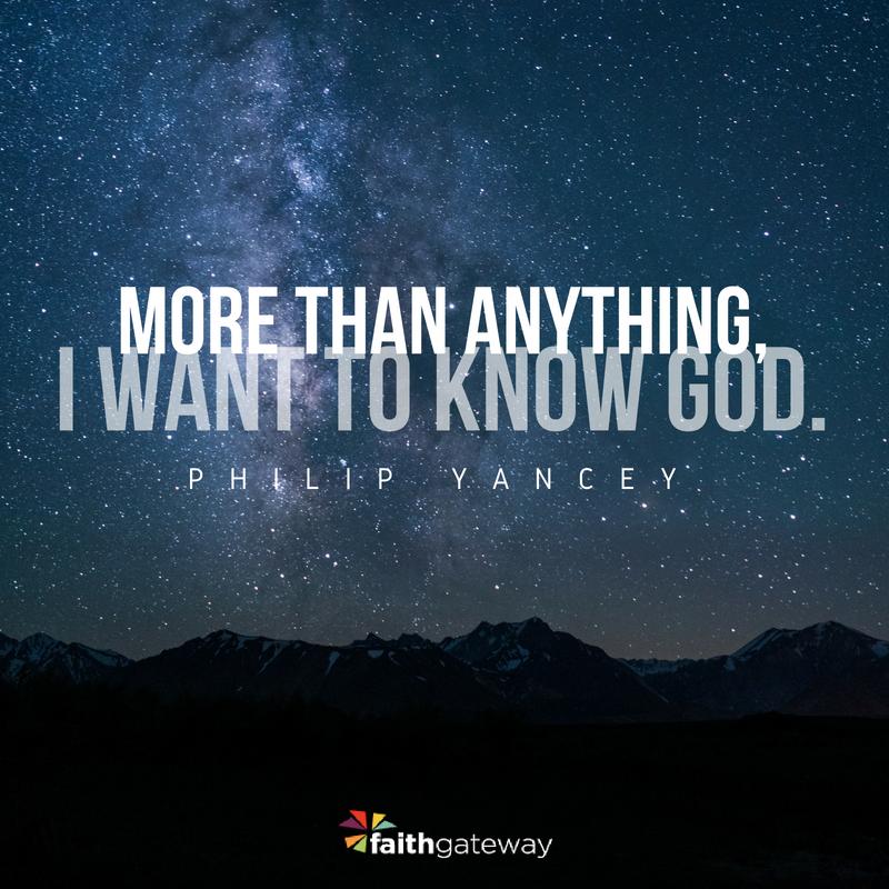 Prayer - Knowing God