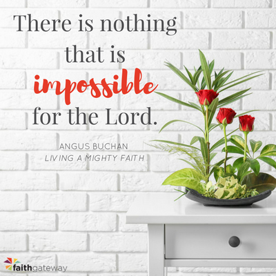 There is nothing that is impossible for the Lord; redeem my failures