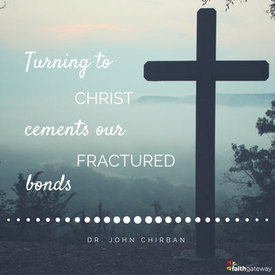 Turning to Christ cements our bonds fractured by divorce