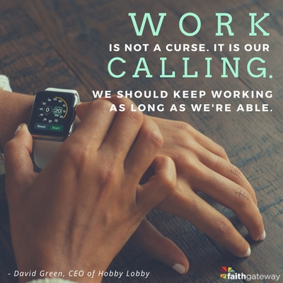 Work is our calling