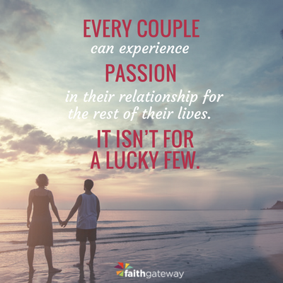 The secret of every passionate marriage is to invest in it